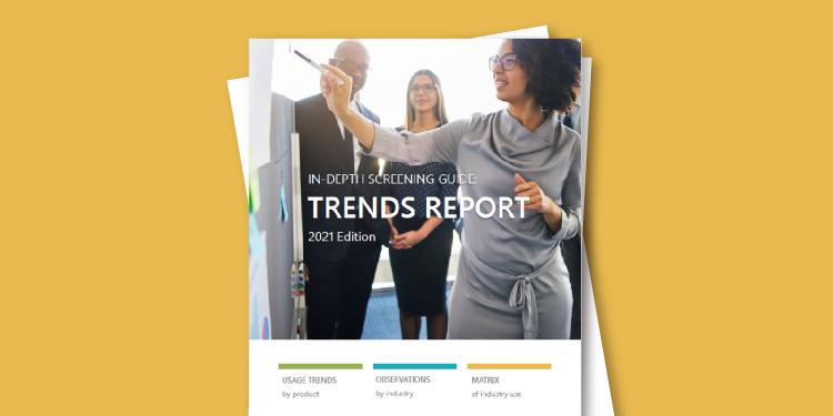 Verified Credentials 2021 Background Screening Trends Report