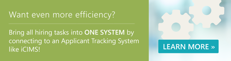 Efficiency with an ATS Integration