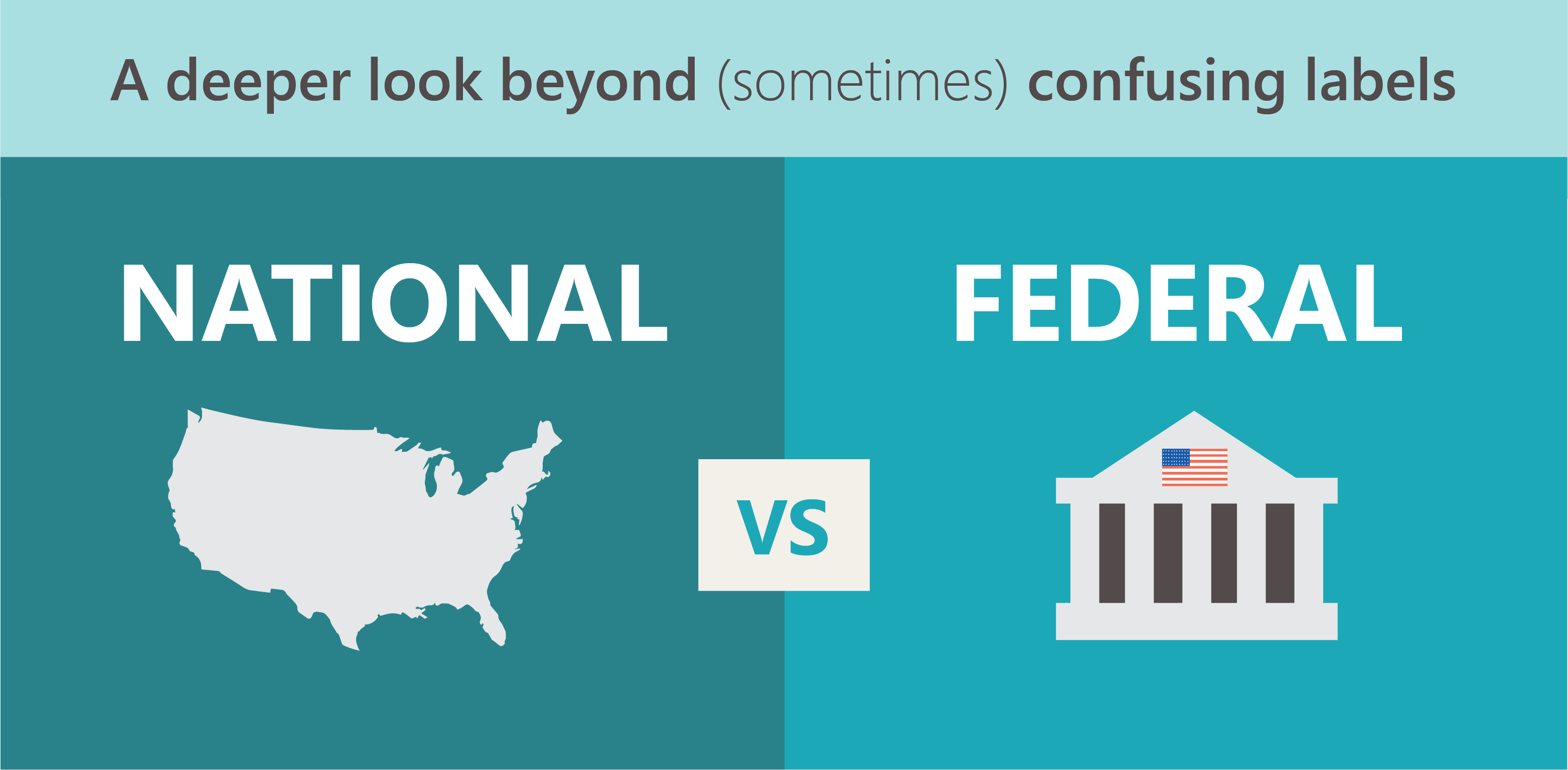 A look at the difference between National Criminal Database and Federal Criminal History Searches