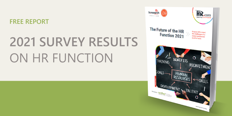 Future of HR Function Survey Results