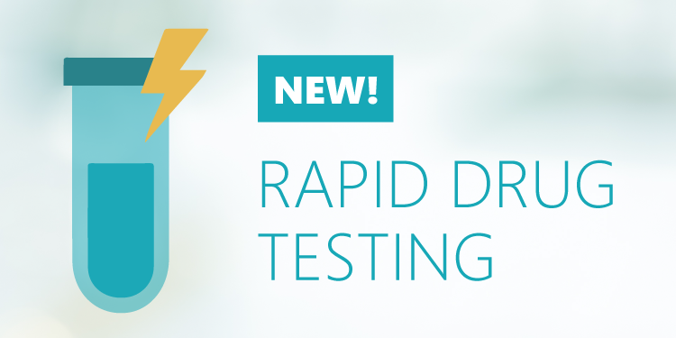 New! Rapid Drug Testing from Verified Credentials