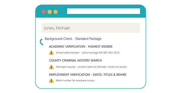 Real Time Background Check Updates