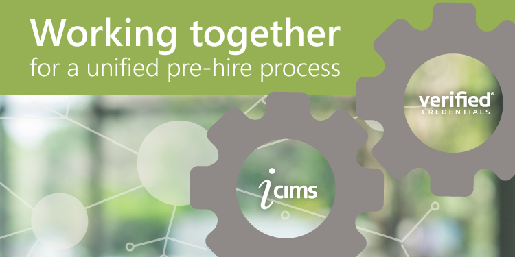 iCIMS and Verified Credentials | Working Together