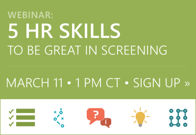 Upcoming Webinar | HR Skills for Screening
